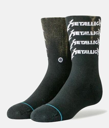 "New with tags Stance Youth Socks Metallica ""Metal Core"" (YM 11-1) Kids Rock"