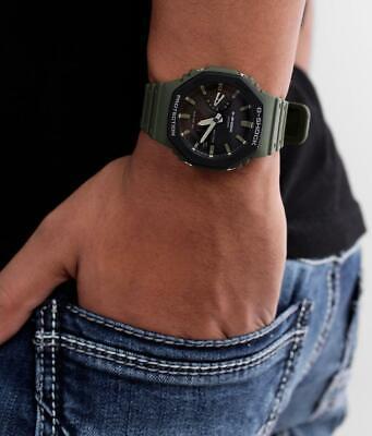 G-Shock 'CasiOak' GREEN Limited Edition - GA-2110SU-3A - Casio Ana-Digi Watch