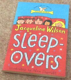 Brand new Jacqueline Wilson - Sleepover