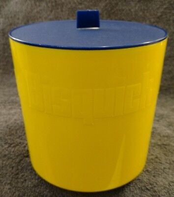 Vintage Bisquick Plastic Pancake Waffle Mix Flour Sugar Storage Container EUC for sale  Shipping to Canada