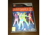 Nintendo Wii Game Just Dance 2 As New Condition