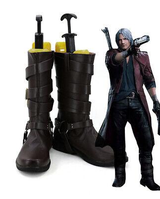 Devil May Cry 5 Dante Schuhe Stiefel Shoes Boots Cosplay Kostüme Costume - Devil May Cry 5 Dante Cosplay Kostüm