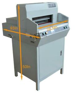 Paper Guillotine 18 450mm Stack Heavy Book Paper Punch Cutter for Printing Shop 120112