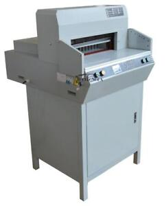 """Paper Guillotine 18"""" 450mm Stack Heavy Book Paper Punch Cutter for Printing Shop 120112"""