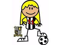 Ladies Football Team Welcoming new players, all abilities, 16+