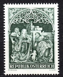 "Austria - 1967 Christmas Mi. 1254 MNH - Enschede, Nederland - Austria - 1967 Christmas Mi. 1254 MNH Click the button below to view more Austria lots from our extensive offerings. After clicking select ""Austria"" in the blue side-bar on the left. Our lots start at just €0,25 Combine up to 10 lo - Enschede, Nederland"