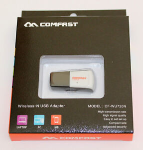 Wireless-Internet-Adapter-Comfast-Dongle-Realtek-Chip-USB-2-0-802-11b-g-n-Boxed