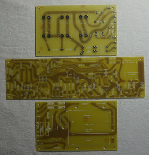 SOLDANO SLO PCB Circuit Board Set:  PreAmp & Power - USA Seller