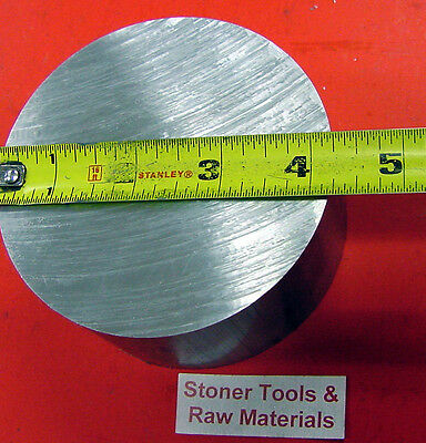 4-14 Aluminum 6061 Round Rod 2-14 Long Solid T6511 Extruded Lathe Bar Stock