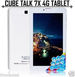 4G LTE CUBE TALK 7X U51GT Android 5.1 1GB 16GB Phone Call Tablet Phablet 64Bit