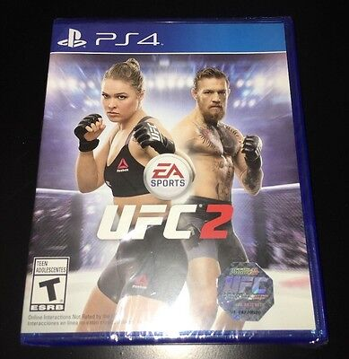 EA Sports UFC 2 PlayStation 4 PS4 video game!! Brand New!! Factory Sealed!! for sale  Shipping to Nigeria