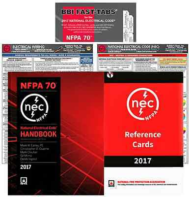 NFPA 70 : National Electrical Code (NEC) Handbook PKG (FTQC-EWRC), 2017 Editions