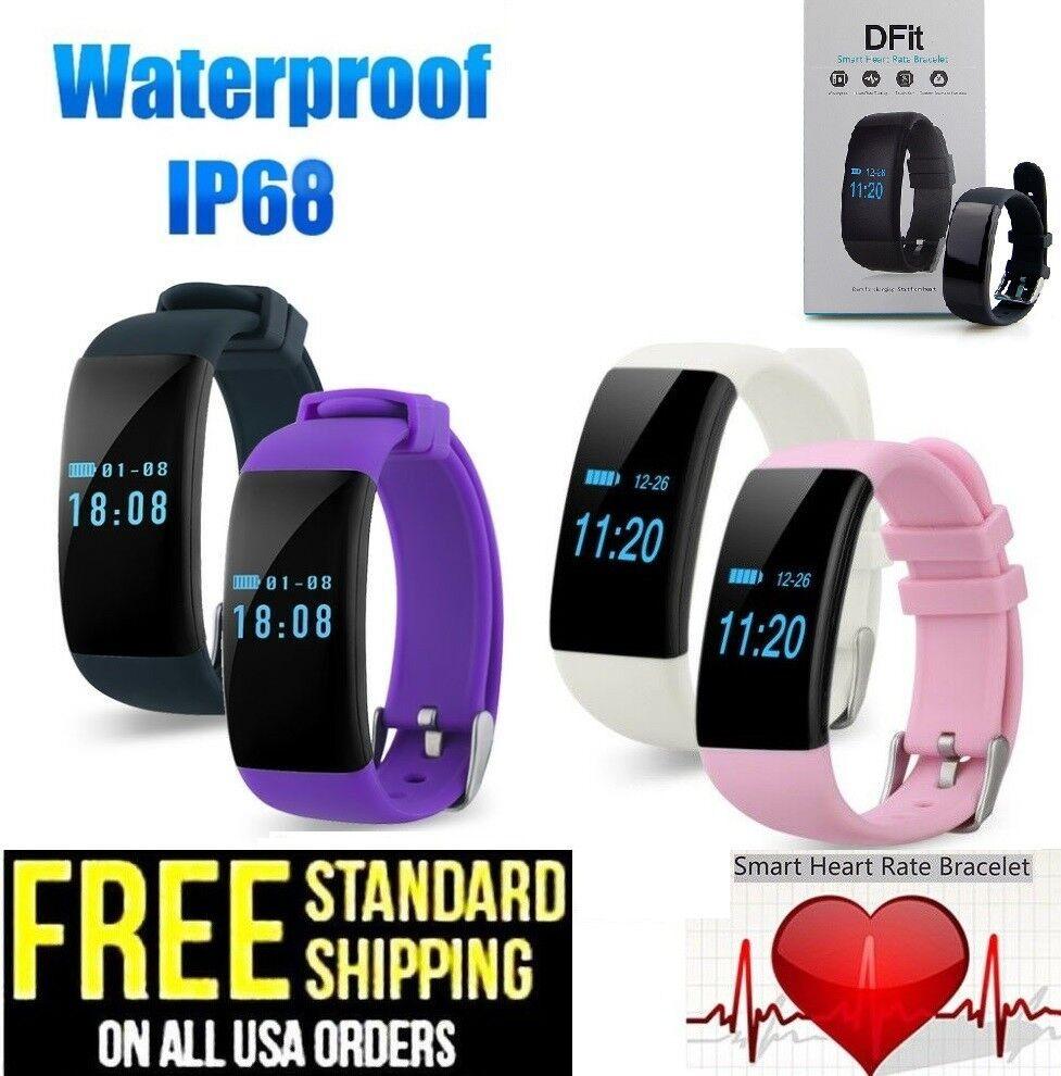 d21 wristband heart rate smart watch health