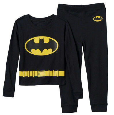 Batman Uniform (NWT Batman Uniform 2-Piece Pajama Set Boys Sizes 4, 8,)
