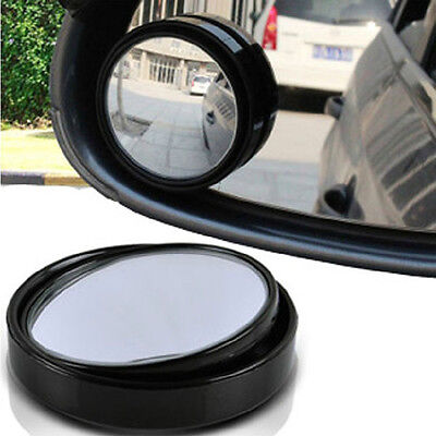 (Adjustable Car Great Circle Rearview Blind Spot Side Mirror Convex Wide Angle)