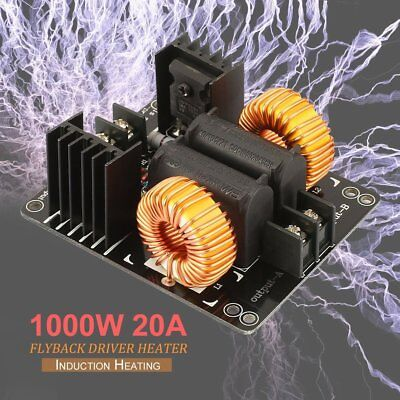 1000w 20a Zvs Low Voltage Induction Heating Coil Module Flyback Driver Heater Nd