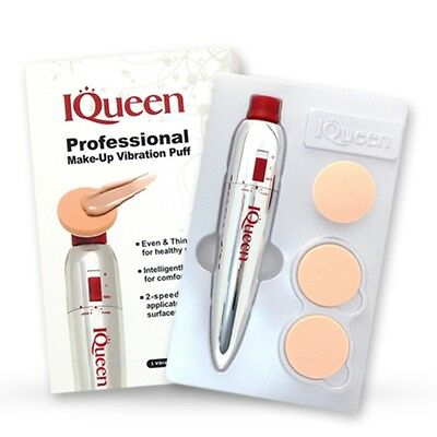 iQueen Professional Electric Foundation _Moisturizing Make Up_Electric Puffer