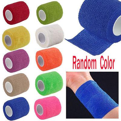 First Aid Health Care Medical Self-Adhesive Elastic Bandage Gauze Tape Treatment