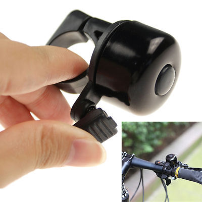 New Black Metal Ring Handlebar Bell Sound Alarm Horn for Bike Bicycle Cycling