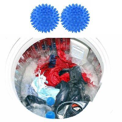 Set 2 Palline per lavatrice palla con punte Ammorbidente per i tessuti Bucato