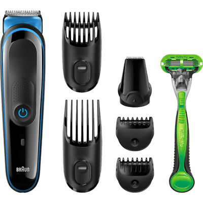 barber+ trimmer+ shaver Braun multifunction Spare parts Shaving and blade