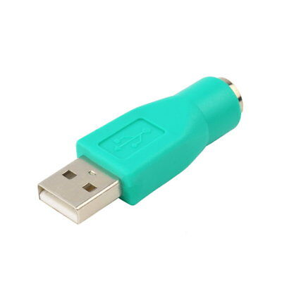 USB Male To PS2 Female Adapter Converter for Computer PC Keyboard Mouse LG