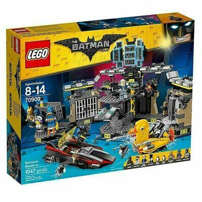 LEGO® Batman Movie Batcave Break-in 70909 NEW SEALED Large Set DISCONTINUED