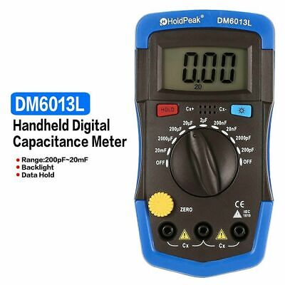 Handheld Digital Capacitance Meter Capacitor With Lcd Backlight 1999 Counts K0p2