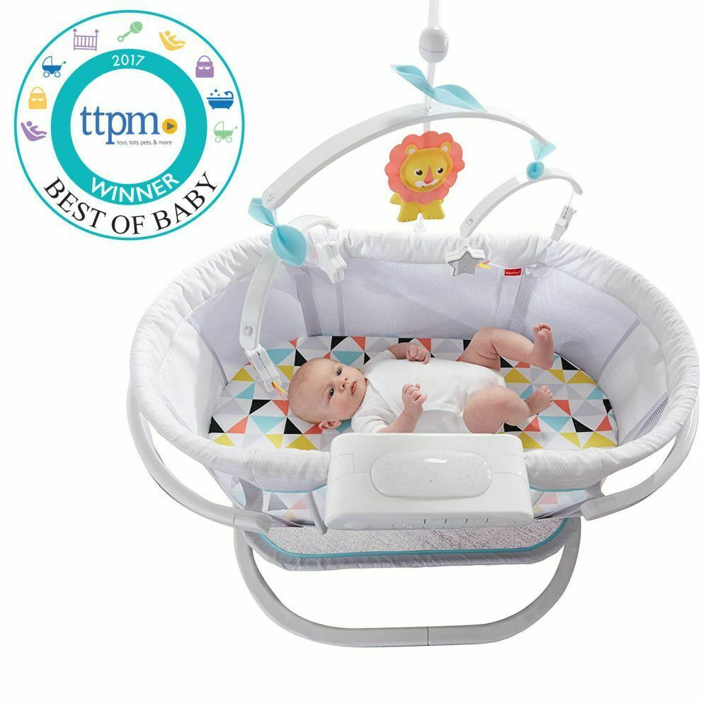 Fisher-Price DPV72 Soothing Motions Bassinet Baby Infant Nursery Pick Up Only  - $20.00