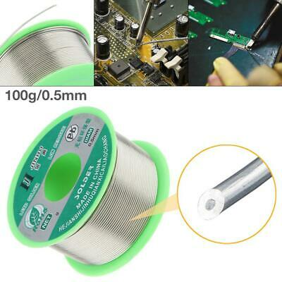 Tin Lead Rosin Core Solder Wire For Electrical Solderding 100g 0.5mm Lead-free