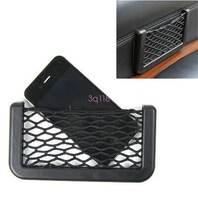 1x Auto Car SUV Interior Body Edge Elastic Net Storage Phone Holder Accessories