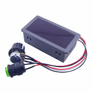 DC6-30V 12V 24V Max 8A Motor PWM Speed Controller With Digital Display Switch DP
