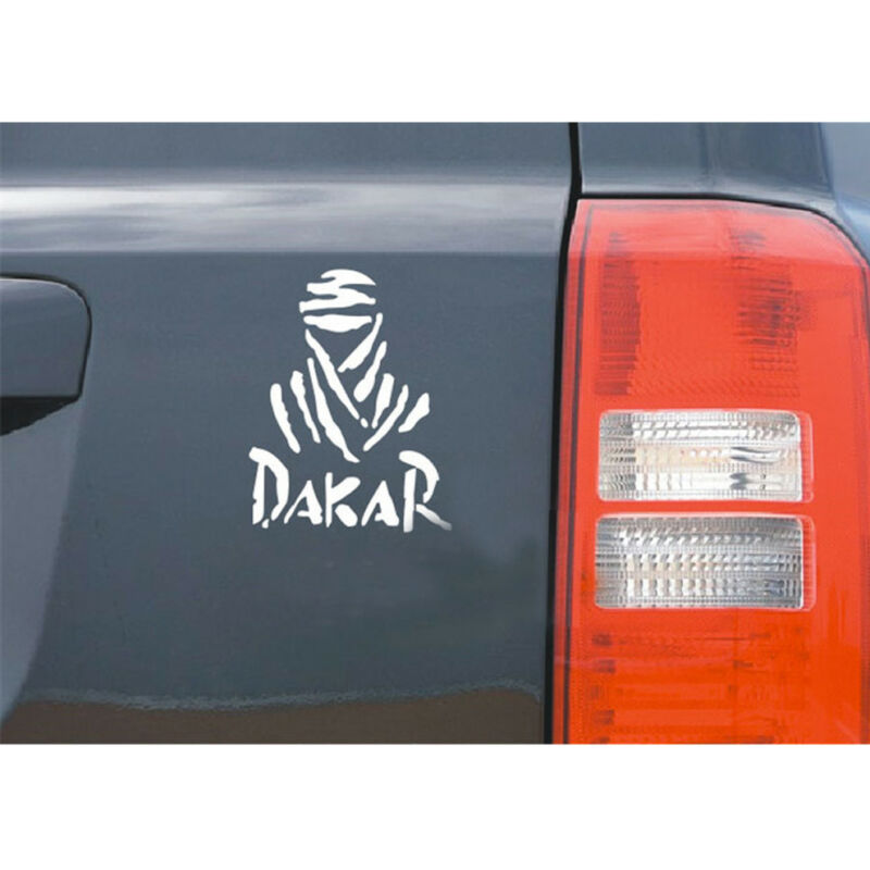 Universal DAKAR Off road car sticker Reflective/&Waterproof Creative White//B V9B1