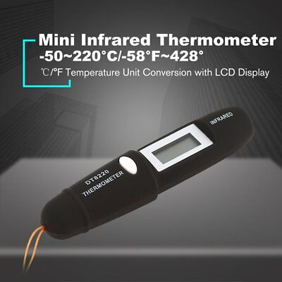 Dt8220 Digital Handheld Lcd Infrared Thermometer Temperature Pen Non Contact Kl