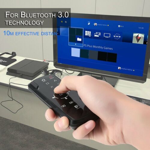 Wireless Bluetooth 3.0 Game DVD Media Remote Control For PS4 Controller DL - $7.24
