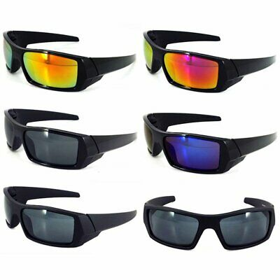 Sunglasses Driving Square Frame Dark Polarized Wrap Around bright black gray (Boys Polarized Sunglasses)