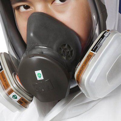 Original 3m 6800 Full Face Vapor Dust Mask Respirator 6800 Spray Paint Dk