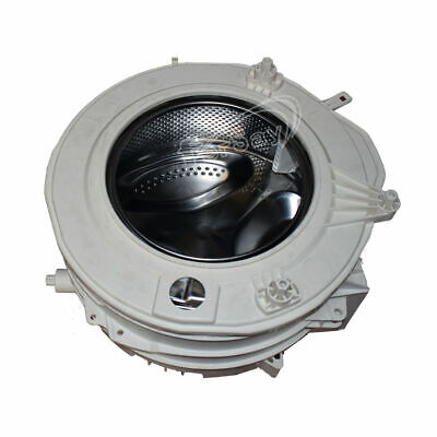 Conjunto cuba lavadora Ariston, Indesit polea 26 cm. Cuba Aleta Rompeaguas Lavad