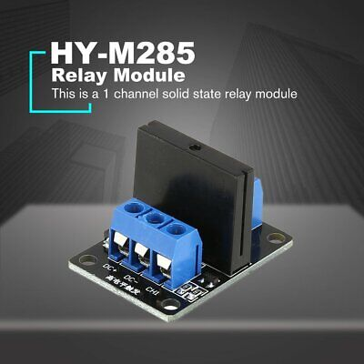 1 Way Solid State Relay Module Board Dc 5v High Level Trigger Ssr For Arduino Vc
