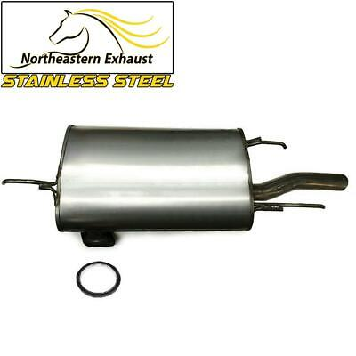 Stainless Steel Rear Muffler Pipe fits: 1992 - 1996 Toyota Camry 2.2L