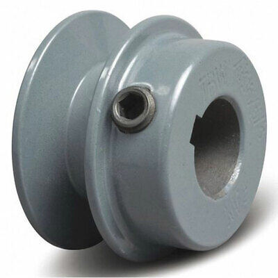 1.75 Cast Iron 58 Shaft Pulley Sheave Single Groove V Style A Belt Ak17-58