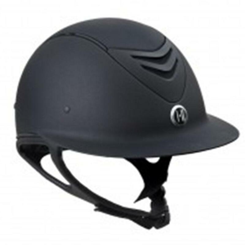 One K Defender Avance Wide Brim Riding Helmet - Black