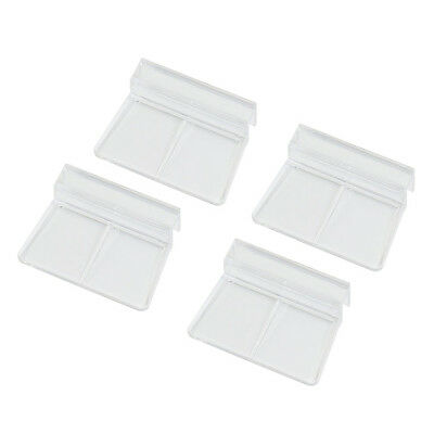 Aquarium Fish Tank Glass Cover Clip Support Holder, 6mm, 4-Pack N3