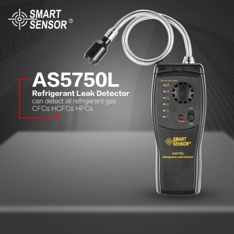 AS5750L Refrigerant Leak Detector Halogen Freon CFCs HCFCs HFCs Gas Analyzer ND