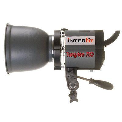 Interfit INT155 Stellar X 750w 3-Lamp Tungsten 3200K Lighting Head