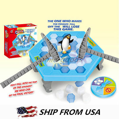 Penguin Trap Board Game Ice Breaking Save Kids Early Educational Board Game Toy