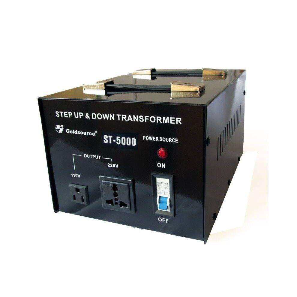 Goldsource St 5000 Step Up Down Transformer Convert Us Uk