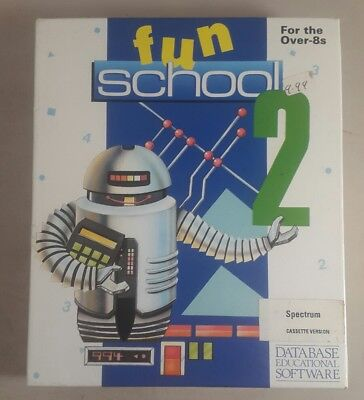 Spectrum game Fun School 2 For 6-8 Year Olds -Spectrum 48K cassette game - Games For 8 Year Old