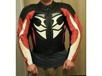 Hein Gericke leather jacket Race Tec