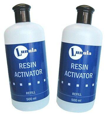 2 x 500ml Resin Activator / Nail Glue Accelerator